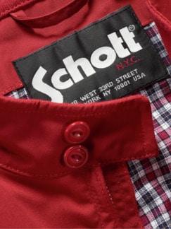 Schott Blouson Protect rot Detail 3