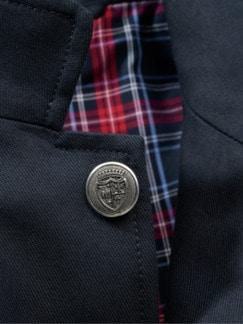 East End Jacket dunkelblau Detail 4