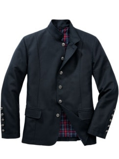 East End Jacket dunkelblau Detail 1