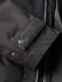 Kurzmantel Darbes schwarz Detail 3