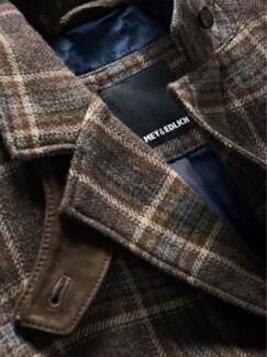 Hunter Coat Tartan braun Detail 4