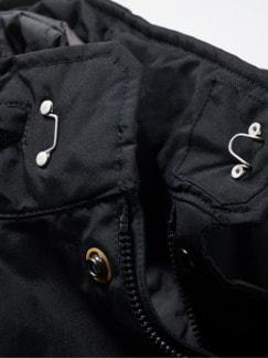 Schott Fieldjacket schwarz Detail 4