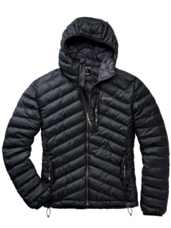 Annapurna-Jacke schwarz Detail 1