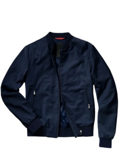 Tailored Blouson mitternachtsblau Detail 1