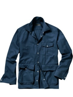 Worker Jacket blau Detail 1