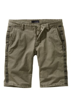 Galon-Shorts khaki Detail 1