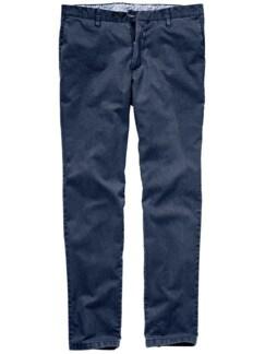 Trüffel-Chino tiefseeblau Detail 1
