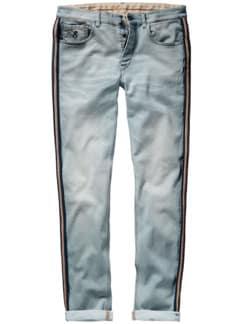 Barb`One Jeans Bagnini blue denim Detail 1