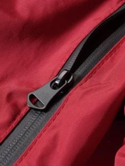 Ideenspeicher-Jacke rot Detail 4