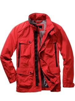 Ideenspeicher-Jacke rot Detail 1