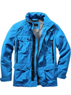 Ideenspeicher-Jacke blau Detail 1