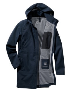 Raincoat Scandinavian Editon navy Detail 1