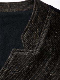Zweireiherweste Stabilita dunkelbraun Detail 4