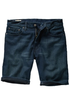 Levi`s Shorts 502 Hemmed raw denim Detail 1
