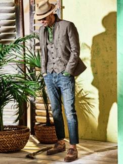 Jeans Tyler Plus blau Detail 3