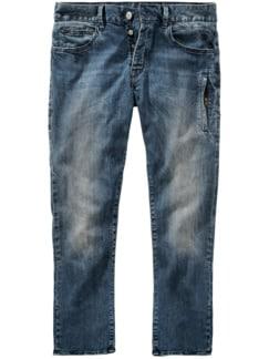 Jeans Tyler Plus blau Detail 1