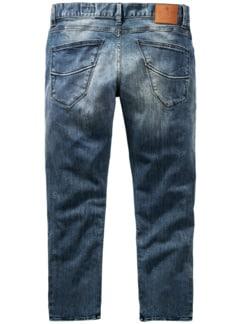 Jeans Tyler Plus blau Detail 2
