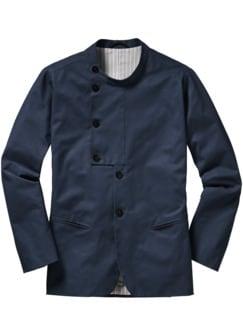 Designerstück P-Jacket marine Detail 1