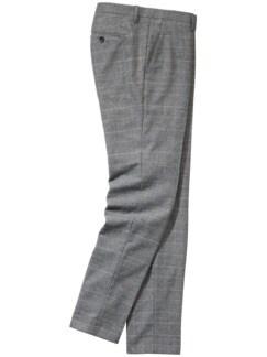 Hose Cipuletti Glencheck grau Detail 1