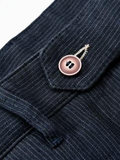 Cosa-Nostra-Chino dunkelblau/weiß Detail 4
