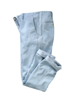Banana-Chino light blue Detail 1