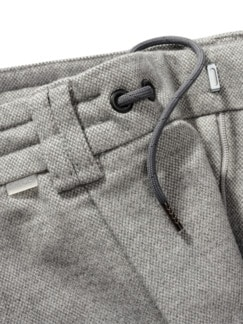 Bordcase-Anzughose heathergrey Detail 3