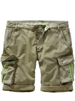 Barb`One Shorts Mick khaki Detail 1