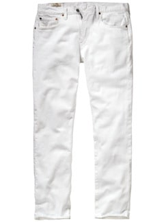 Kreidefelsen-Jeans salzweiß Detail 1