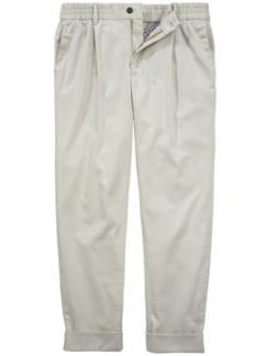 Post Homeoffice Pants naturweiß Detail 1