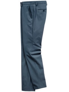 Spannungsbogen-Anzughose taubenblau Detail 1