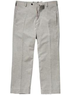 Formal Baggy Pants Streifen blau/weiß Detail 1