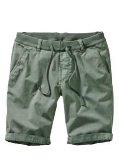 Steg-und-Planken-Shorts seegrün Detail 1