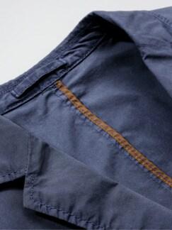 Papierflieger-Anzugsakko blau Detail 4