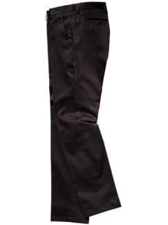 Ebenholz-Anzughose dunkelbraun Detail 1