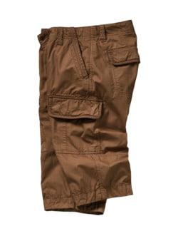 Freibeuter-Shorts braun Detail 1