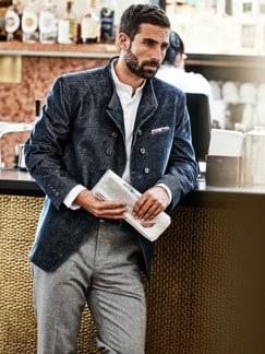 Mayfair Jacket blau Detail 3