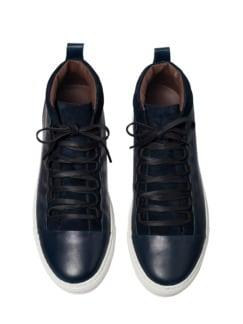 Hybrid-Sneaker blau Detail 1