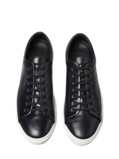 Bauhaus-Sneaker schwarz Detail 1