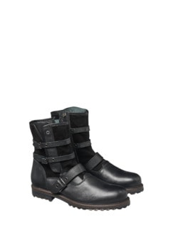 Buckle Boot Schwarz Detail 1