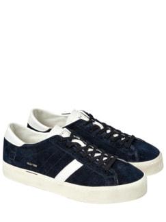 Sneaker Hill tiefblau Detail 1