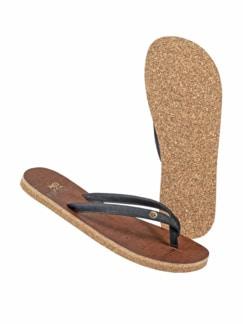 Kork-Sandale rustic black Detail 1