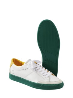 Sneaker Jet weiß/grün Detail 1