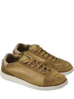 Sneaker Tate Copper washed mustard Detail 1