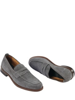 Penny Loafer grau Detail 1