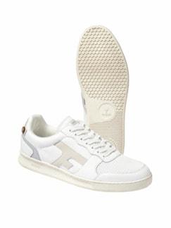 Upcycled Sneaker Hazel weiß Detail 1