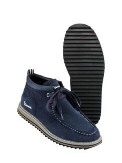 Sneaker Farmer dunkelblau Detail 2