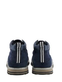 Sneaker Farmer dunkelblau Detail 4