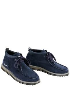 Sneaker Farmer dunkelblau Detail 1