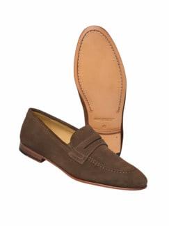 Loafer Bologna braun Detail 1