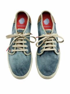 Veggie-Sneaker Heisei blue verdigris Detail 4
